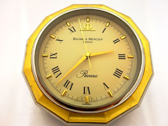 Baume & Mercier Riviera Desk Clock Quartz