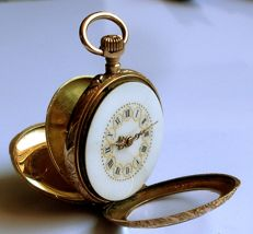 French pocket watch  style Louis XV  - 1901 - 1949