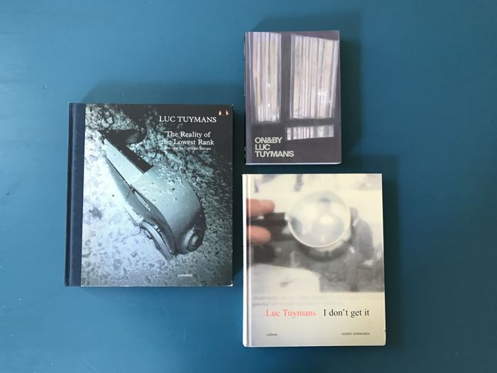 Luc Tuymans; Lot with 3 books - 2008/2013
