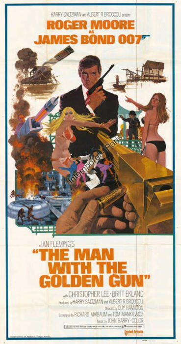 Anonymous - The Man With The Golden Gun - 1974