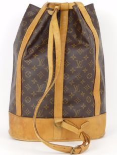 Louid Vuitton - Randonnee GM Backpack - Monogrammed Canvas - Unisex