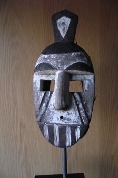 Old Acali dance mask - IGBO - Nigeria