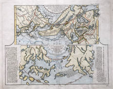 World, Asia, Japan, Norht-America, California; Vaugondy, Diderot - Carte Des Nouvelles Decouvertes...(Plus) Extrait D'une Carte Japonoise De L'univers... - 1772