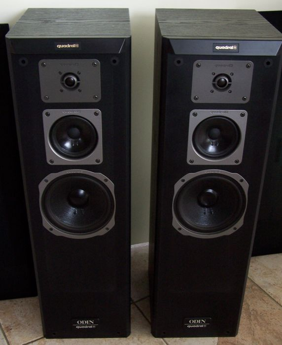 quadral odin mk3 3 way hi fi speakers 80 140 w catawiki. Black Bedroom Furniture Sets. Home Design Ideas