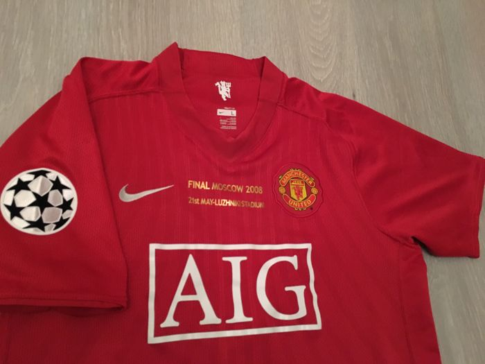 the latest 4a0dd 97550 C. Ronaldo - Final UCL 2008 - Manchester United Shirt ...