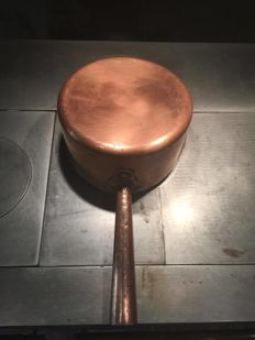 Pan copper for caramel