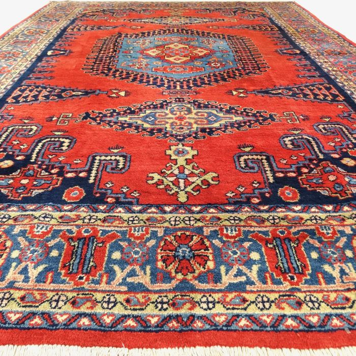 "Wiss - 335 x 240 cm – ""Eye-catcher – Modern Persian carpet in beautiful condition"" – With certificate"