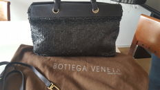 Bottega Veneta - Exclusive large shoulder bag - Lambskin with sequins - Rare