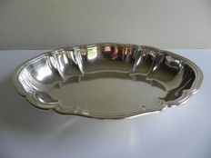 Silver serving dish, C.E. Keyser, Leipzich, Germany, 1890