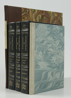 C. Lyell & J. Hutton - Three books (bound in 5 volumes) on evolutionary geology - 1978/1997