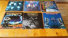 Europe - beatiful lot of 6 albums inc one triple album and one japanese press inc obi