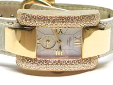 Chopard La Strada - ladies 18k gold & diamond wristwatch