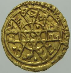 Sicily, Palermo - Ruba'i of the Fatimid Caliph Al-Mustansir (1036-1094) - gold