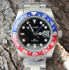 Bliger GMT Master Pepsi 40mm - Wristwatch - Modern >2000