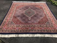 Indian Bidjar ! 282 cm X 270 cm ! Oriental carpet! Handwoven!