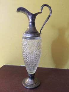 Glass decanter - Art Nouveau