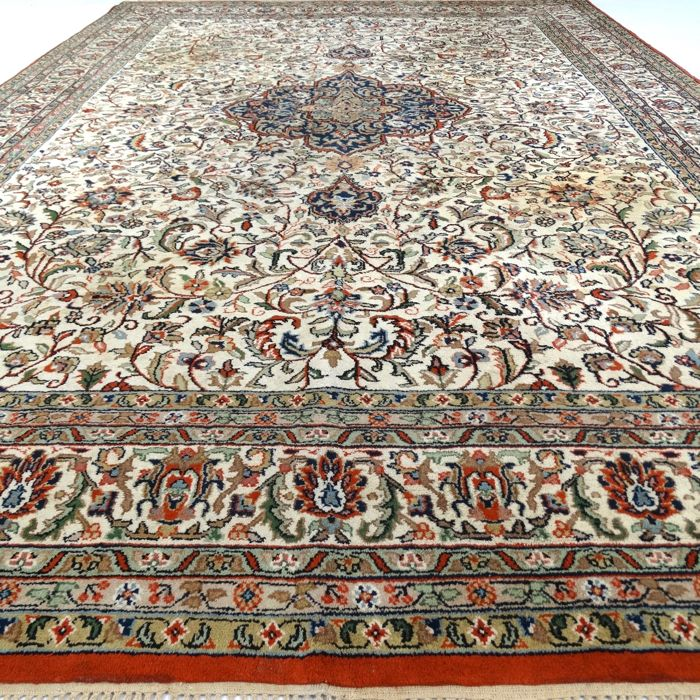 "Tabriz – 354 x 242 cm. - ""XL- Oriental rug in beautiful condition"" - With certificate"