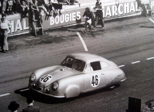 Porsche Type 356 #46 Gmund Coupe - Le Mans 1951 (Limited 50 pcs)