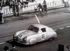 Great Photo Print - Porsche Type 356 #46 Gmund Coupe- Le Mans 1951