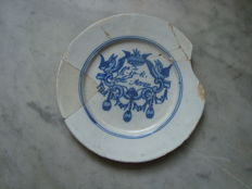 17th century saying plate - 22 cm