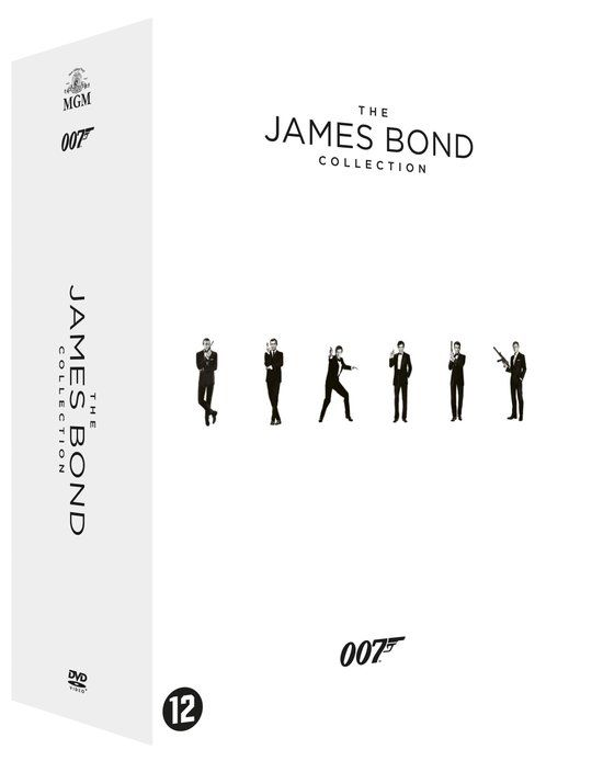 James Bond dvd box