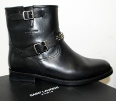 Yves Saint Laurent - Biker boots