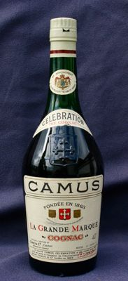 Cognac Camus Celebration 1863-1963 - N°044346 C