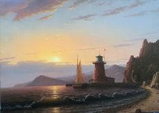 Vadim Tsvetkov (1967) - Pharos on the shore
