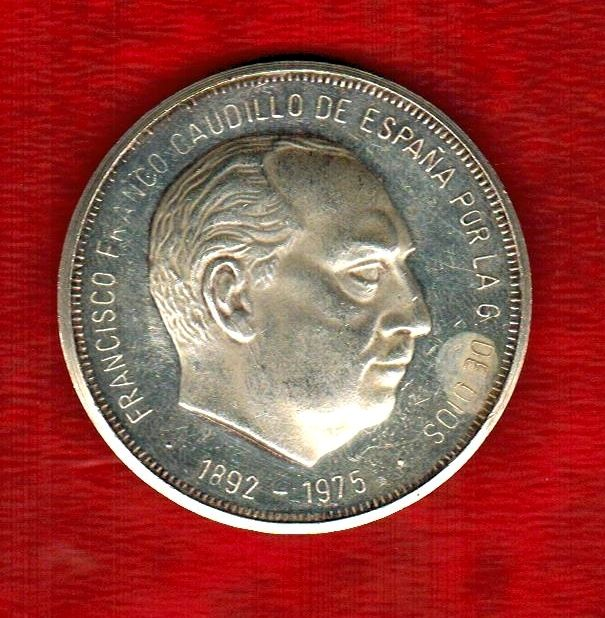Spain - Francisco Franco Madrid 1975 - Medal of 1 ounce of pure silver