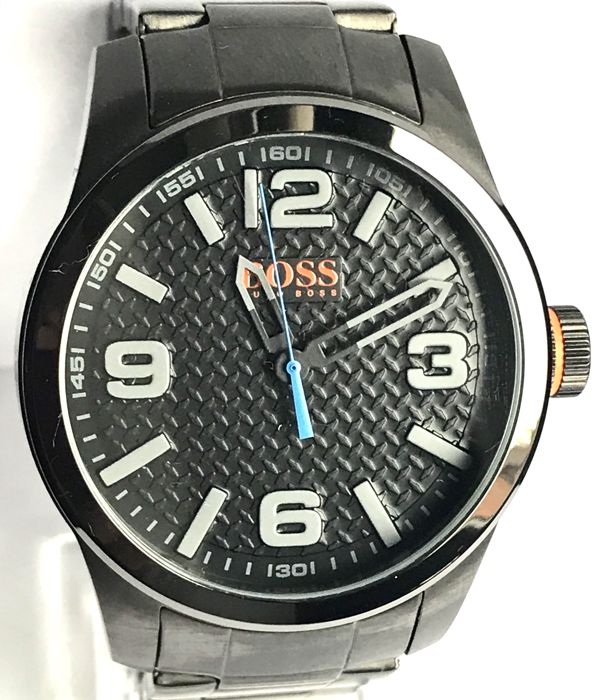 Hugo Boss, Gents, Orange Watch.