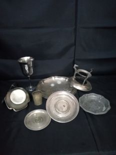 Silver Plated Large Lot