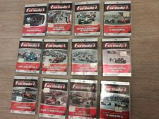 La Grande Avventura Della Formula 1, complete collection of 12 DVDs, Ferrari, McLaren, Red Bull, with 10 more hours of wonderful images and videos
