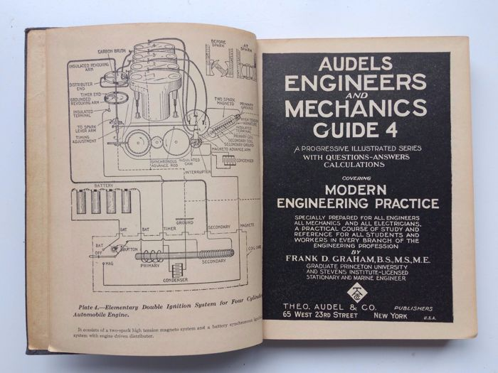 frank graham audels engineers and mechanics guide 8 volumes rh auction catawiki com Electrical Engineering Mechanical Engineering Information