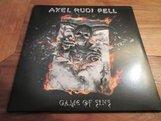 5 LP lot rock Jack Bruce - Paternoster - Anthony Green - Whiskey Myers - Axel Rudi Pell