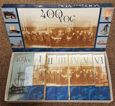 Netherlands - Promotional year pack 2002/2003 '400th Anniversary VOC, 1602-2002', parts I through VI, complete