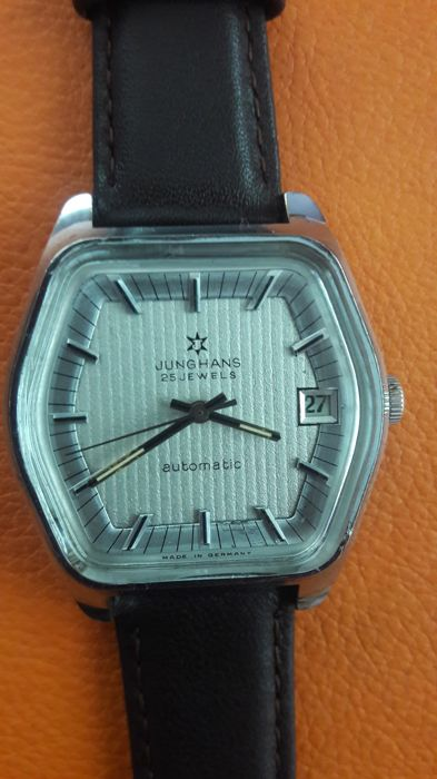 Junghans cal.625 automatic 1970s rare model made in GERMANY