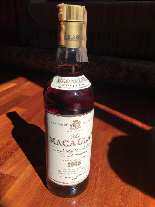 The Macallan 1965 17 years old - bottled 1984 - OB