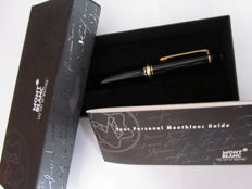 The Montblanc Meisterstück 146 Le Grand Line fountain pen - 14 ct gold nib. (class M)