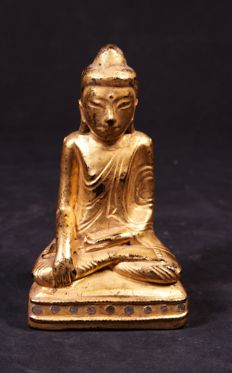 Lacquer Buddha - Burma - early 19th century