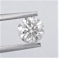 1.16 carat -  E color - SI1 clarity- Round Brilliant Cut  - Comes With AIG Certificate + Laser Inscription On Girdle