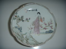 Porcelain display dish - China - circa 1900.