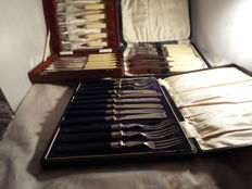 joblot of silverplated cutlery