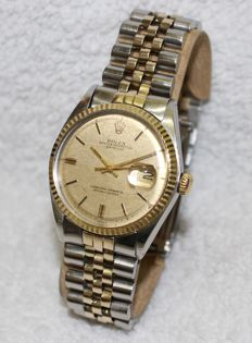 Rolex - Datejust Pie Pan Dial - 1601 - Men - 1970-1979