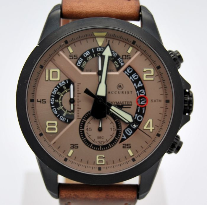 Accurist - Skymaster - Pilots - Chronograph - Gents - 2011-present
