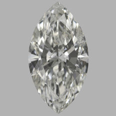 Marquise  Brilliant  0.94ct  H SI2 - EGL USA -Original Image 10X #2222