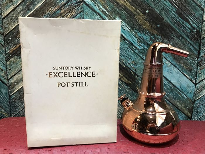 Suntory Whisky Excellence Pot Still Decanter Limited and Discontinued