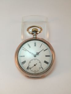 Antique JWC (IWC) silver pocket watch
