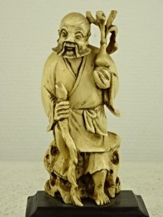 Ivoren Li Tieguay figure – China – approx. 1930