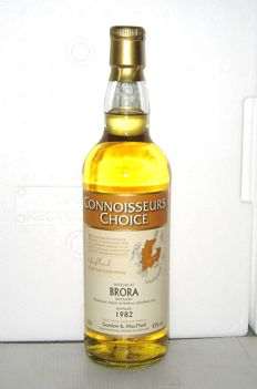 Brora 1982 26 years old  - Highland - 70cl - 43% - Connoisseurs Choice - Gordon & MacPhail