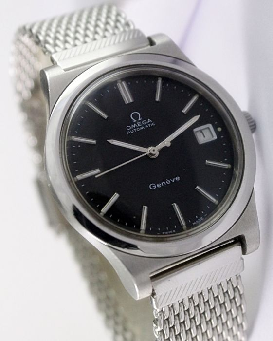 Omega Geneve Automatic Men's Wrist Watch - Ref ST 166.0173 - Circa 1970s